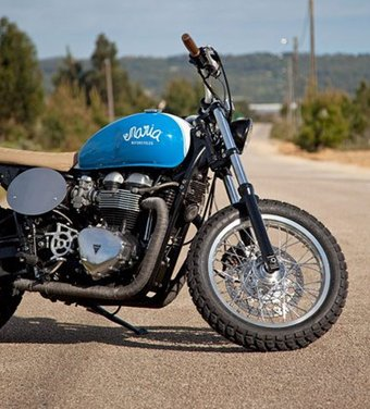 Triumph Thruxton Mightyblue by Maria Motorcycles - Foto 12 di 13