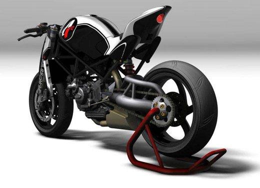 Ducati Monster MS4R concept by Paolo Tesio - Foto 11 di 17