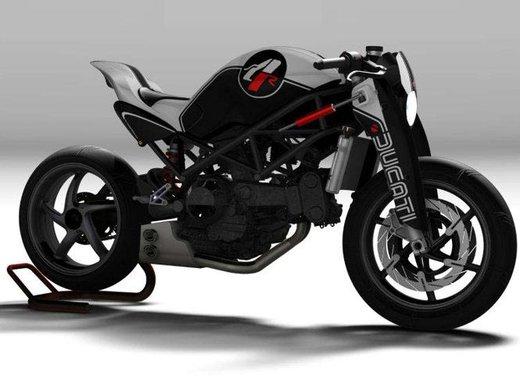 Ducati Monster MS4R concept by Paolo Tesio - Foto 13 di 17