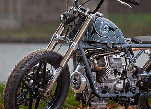 Moto Guzzi V50 Monza in versione custom giapponese - Foto 3 di 9