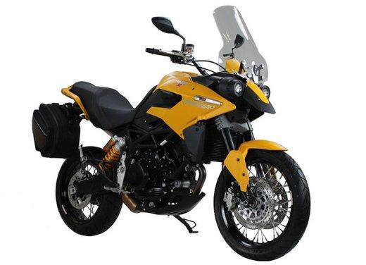 Moto Morini Granpasso 1200 Travel Yellow Factory Custom al prezzo di 12.500 euro - Foto 6 di 10