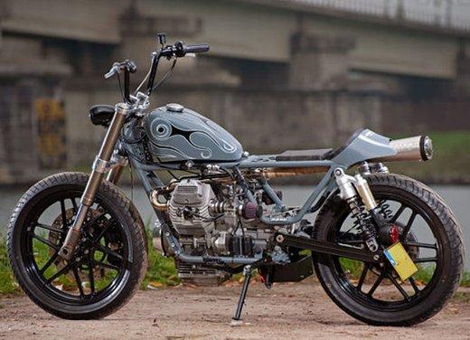 Moto Guzzi V50 Monza in versione custom giapponese - Foto 4 di 9
