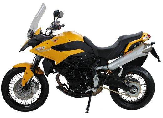 Moto Morini Granpasso 1200 Travel Yellow Factory Custom al prezzo di 12.500 euro - Foto 9 di 10