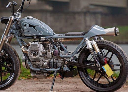 Moto Guzzi V50 Monza in versione custom giapponese - Foto 5 di 9