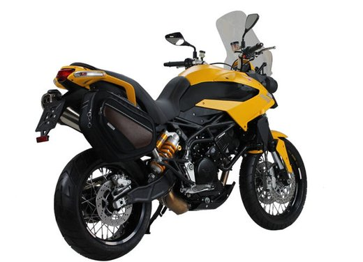 Moto Morini Granpasso 1200 Travel Yellow Factory Custom al prezzo di 12.500 euro - Foto 8 di 10