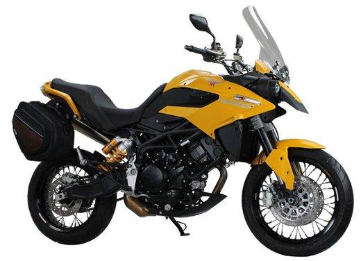 Moto Morini Granpasso 1200 Travel Yellow Factory Custom al prezzo di 12.500 euro - Foto 5 di 10
