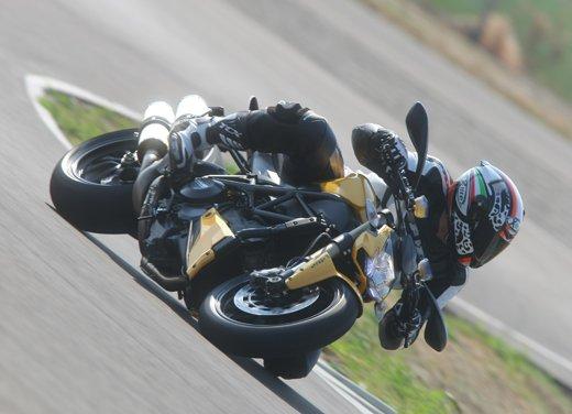 Provata la nuova Ducati Streetfighter 848 sul circuito di Modena - Foto 11 di 37