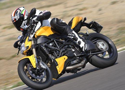 Provata la nuova Ducati Streetfighter 848 sul circuito di Modena - Foto 2 di 37