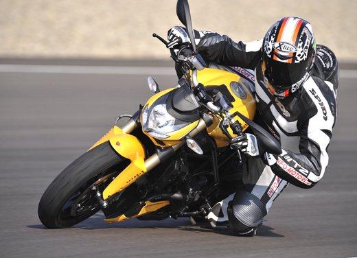 Provata la nuova Ducati Streetfighter 848 sul circuito di Modena - Foto 6 di 37