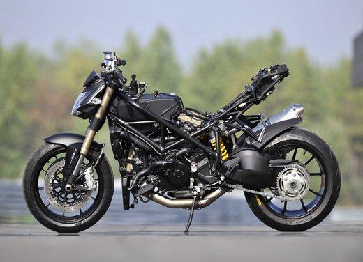 Provata la nuova Ducati Streetfighter 848 sul circuito di Modena - Foto 13 di 37