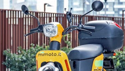 MiMoto: scooter sharing elettrico