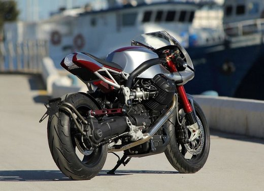Moto Guzzi Ipothesys by Officine Rossopuro - Foto 4 di 14