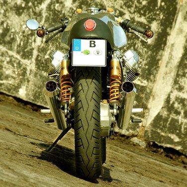 """Moto Guzzi V11 Le Mans """"Scoro"""" by Urban Motors - Foto 13 di 15"""