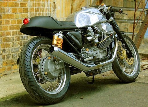 """Moto Guzzi V11 Le Mans """"Scoro"""" by Urban Motors - Foto 12 di 15"""