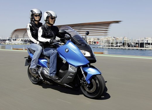 BMW C 600 Sport video ufficiale del maxi scooter sportivo BMW - Foto 64 di 81
