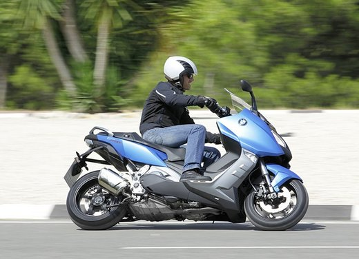 BMW C 600 Sport video ufficiale del maxi scooter sportivo BMW - Foto 49 di 81