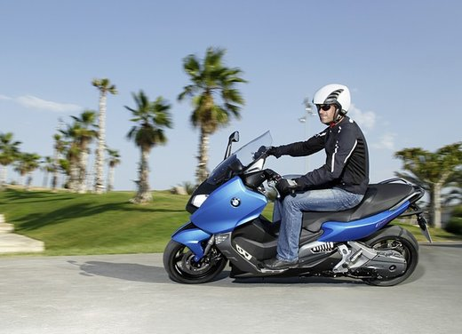BMW C 600 Sport video ufficiale del maxi scooter sportivo BMW - Foto 63 di 81