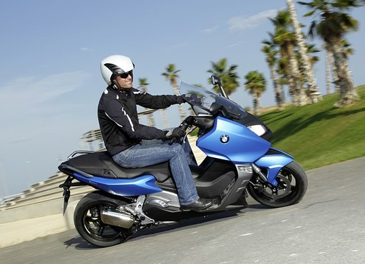 BMW C 600 Sport video ufficiale del maxi scooter sportivo BMW - Foto 62 di 81