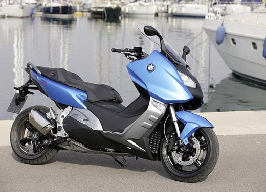 BMW C 600 Sport video ufficiale del maxi scooter sportivo BMW - Foto 61 di 81