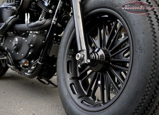 Harley Davidson Sportster Forty Eight Bomb Runner by Rough Crafts - Foto 11 di 13