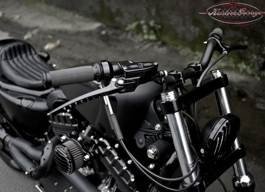 Harley Davidson Sportster Forty Eight Bomb Runner by Rough Crafts - Foto 5 di 13