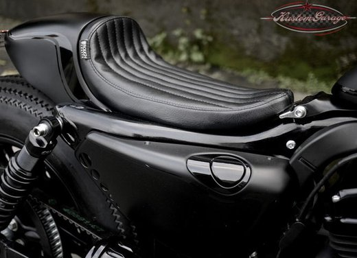 Harley Davidson Sportster Forty Eight Bomb Runner by Rough Crafts - Foto 8 di 13