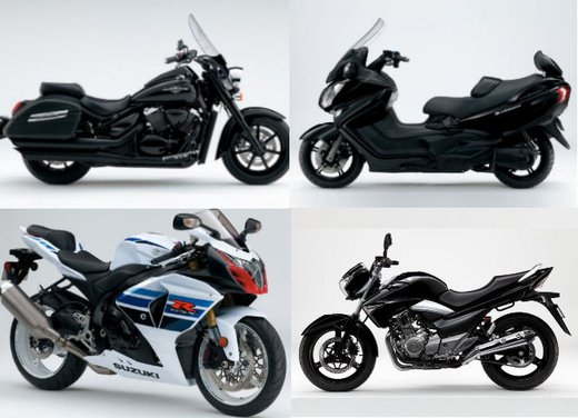 Nuovo Suzuki Burgman 650 e gamma Suzuki al Motor Bike Expo 2013