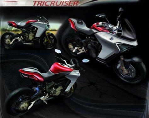 MV Agusta Concept Tricruiser - Foto 8 di 8