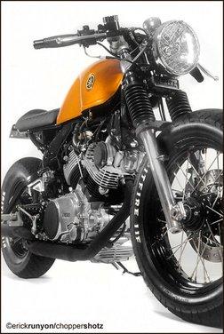 Yamaha XV 750 Café Racer - Foto 11 di 15