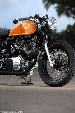 Yamaha XV 750 Café Racer - Foto 10 di 15