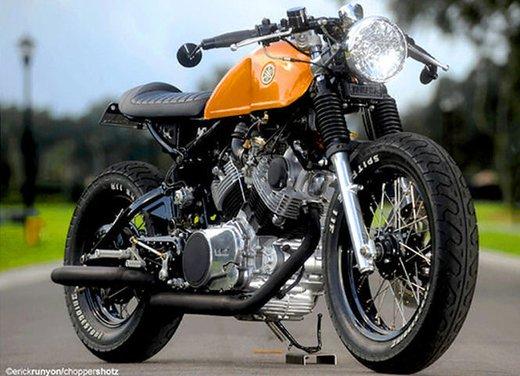 Yamaha XV 750 Café Racer - Foto 2 di 15