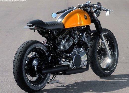 Yamaha XV 750 Café Racer - Foto 4 di 15