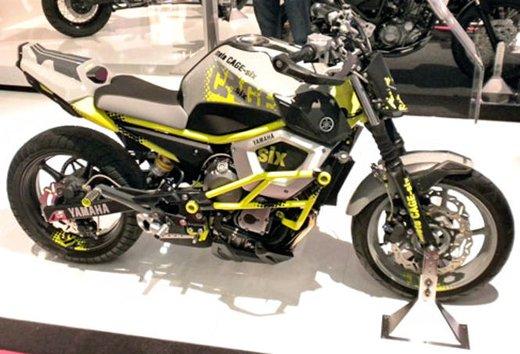 "Yamaha Concept Bike ""Moto Cage Six"" - Foto 2 di 13"