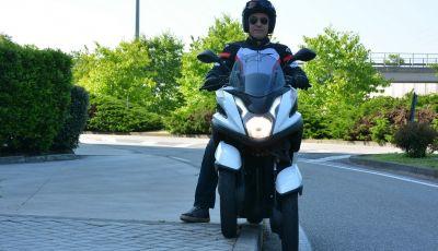 Prova su strada Yamaha Tricity: la città è più sicura