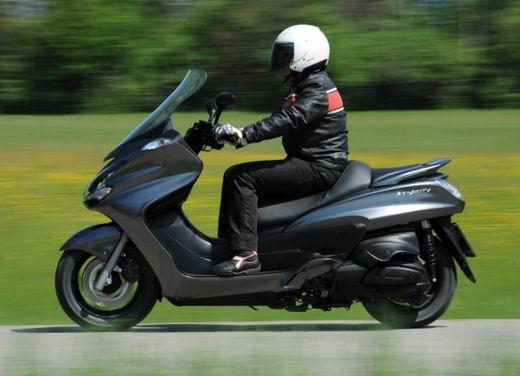 Yamaha Majesty 400 – Test Ride
