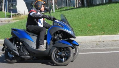 Yamaha Tricity 155: numero perfetto