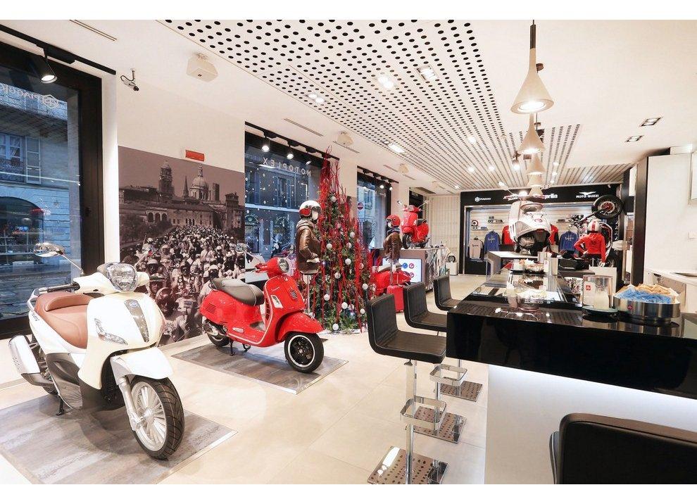 Motoplex, il gruppo Piaggio riunito in un unico store a Milano