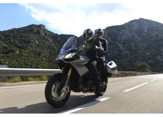 Aprilia Caponord 1200 in prova alla Superbike di Imola - Foto 5 di 5