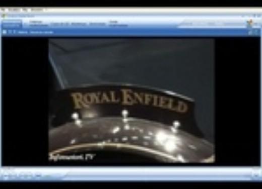 Royal Enfield all'Intermot 2006