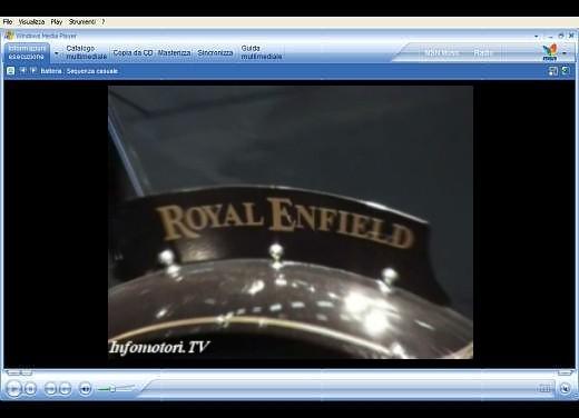 Video Royal Enfield all' Intermot 2006 - Foto  di