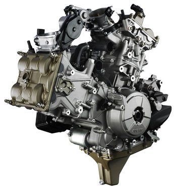 Ducati 1199 Panigale: motore Superquadro - Foto 1 di 25