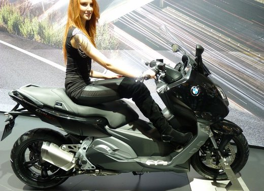 BMW C 600 Sport video ufficiale del maxi scooter sportivo BMW - Foto 6 di 81