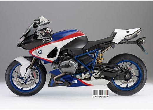 BMW HP2 m.y. 2014 rendering della versione standard e R