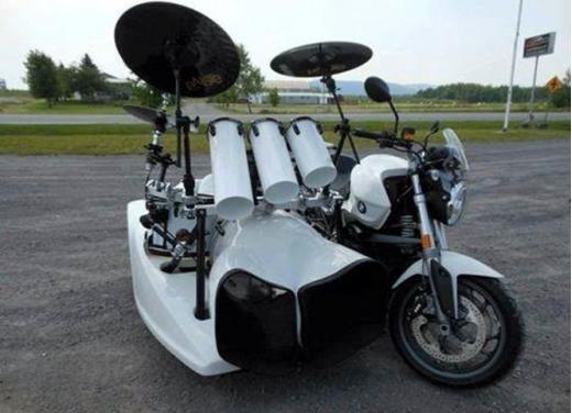 Bmw Motorrad, una gallery delle moto più strane e simpatiche - Foto 17 di 20