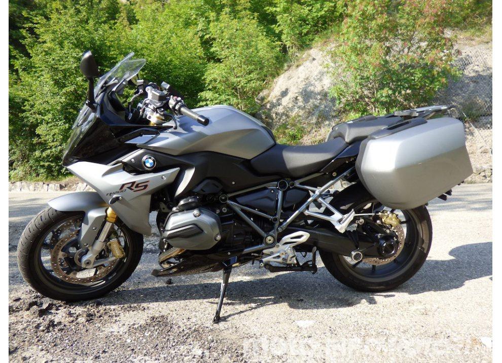 BMW R1200 RS, la prova su strada al Muraglione