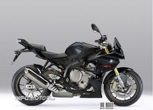 BMW S 1000 RR nuda: il rendering di Infomotori