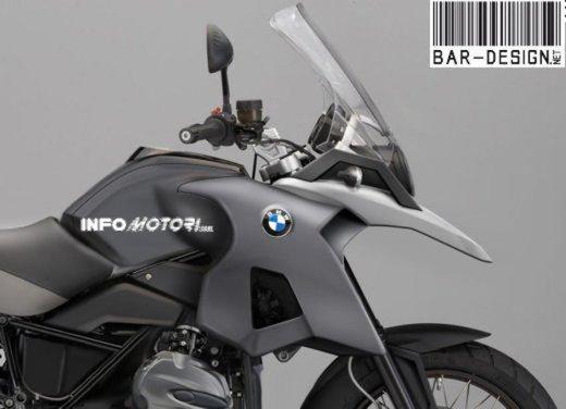 BMW R 1250 GS: foto spia della nuova adventure bike tedesca - Foto 8 di 9