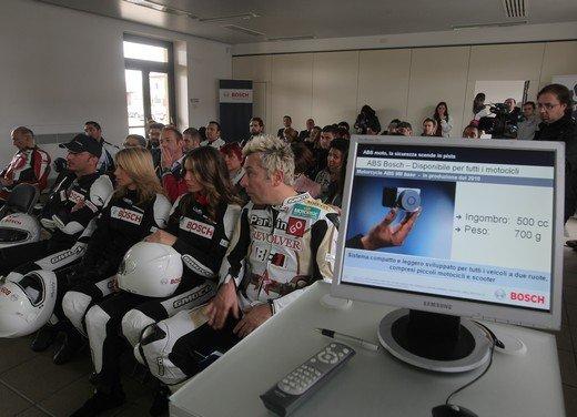 ABS Bosch, test ride del sistema antibloccaggio a Vairano - Foto 10 di 53