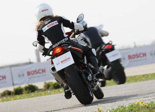 ABS Bosch, test ride del sistema antibloccaggio a Vairano - Foto 22 di 53