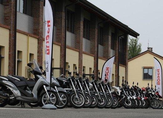 ABS Bosch, test ride del sistema antibloccaggio a Vairano - Foto 32 di 53